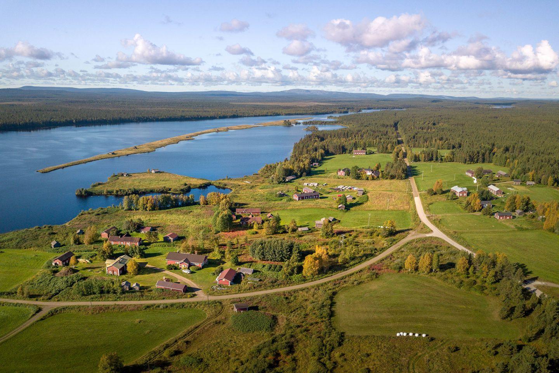 Village in Pelkosenniemi