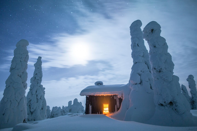 Palotunturi Fell in Posio, Lapland, Finland