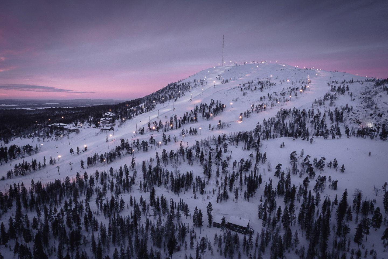 Ski resort in Pelkosenniemi