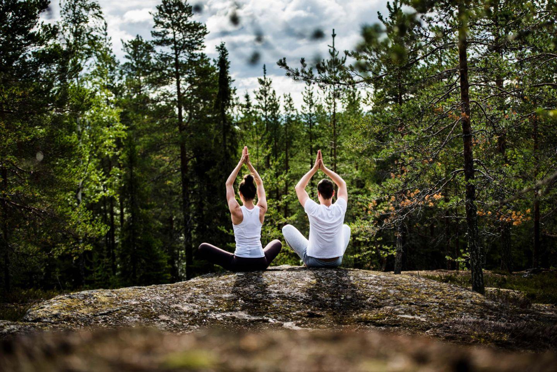 Yoga in Rovaniemi, Finland