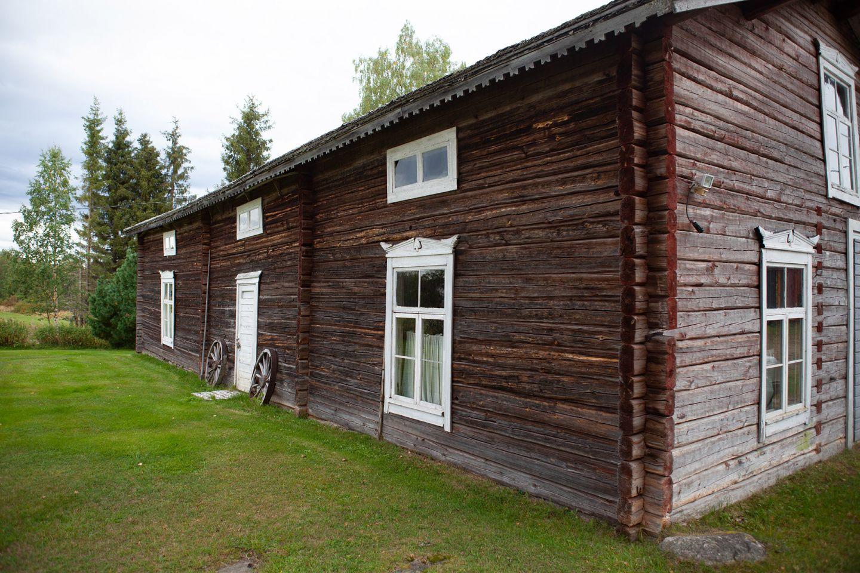 Koskela Local History Museum in Kolari, Lapland, Finland