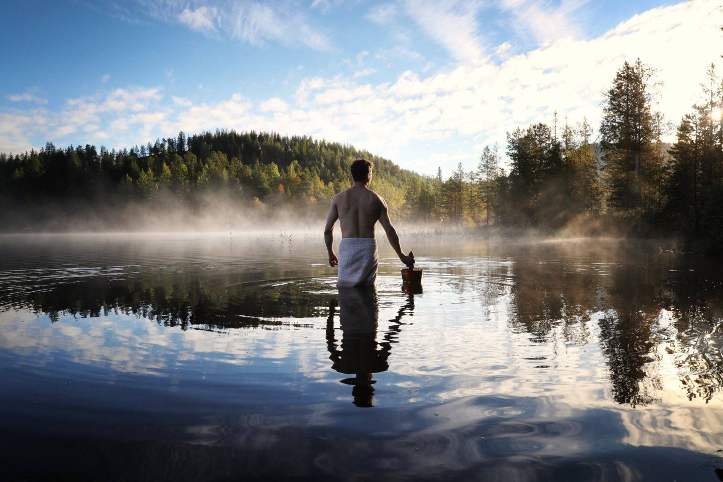 Wellness and wellbeing are part of Finland's culture and one reason we're the happiest country on Earth!