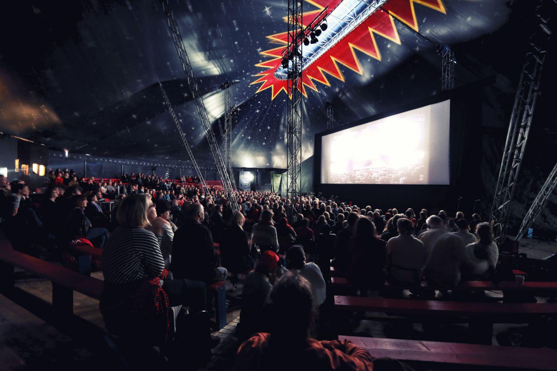 Midnight Sun Film Festival in the town of Sodankylä, Finland