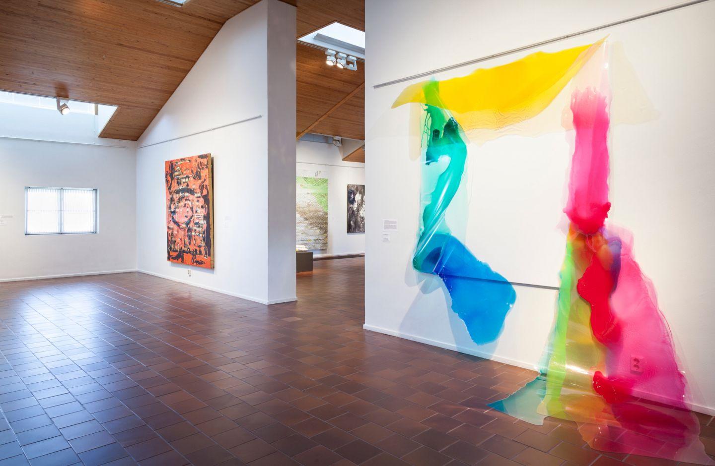 Art exhibit in the Korundi House ofCulture in the city of Rovaniemi, Finland
