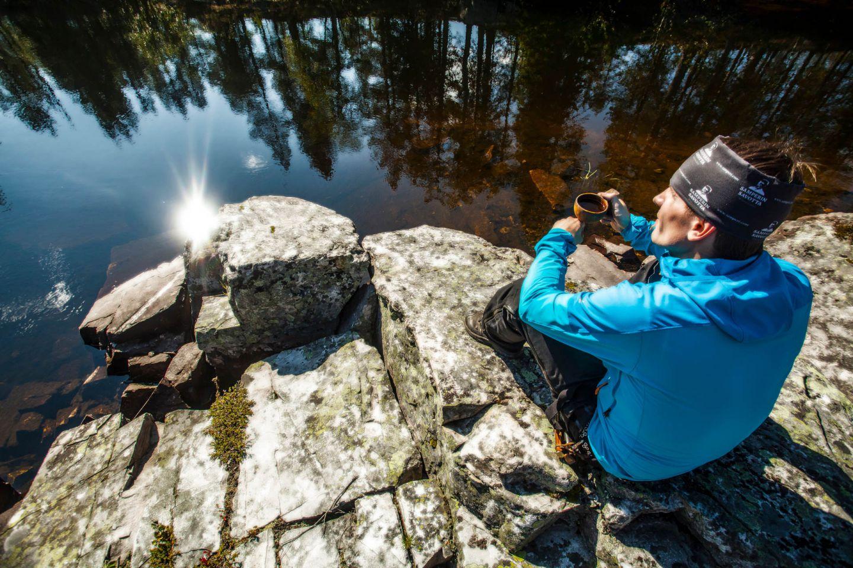 Enjoying the silence in Savukoski-Korvatunturi, Finland