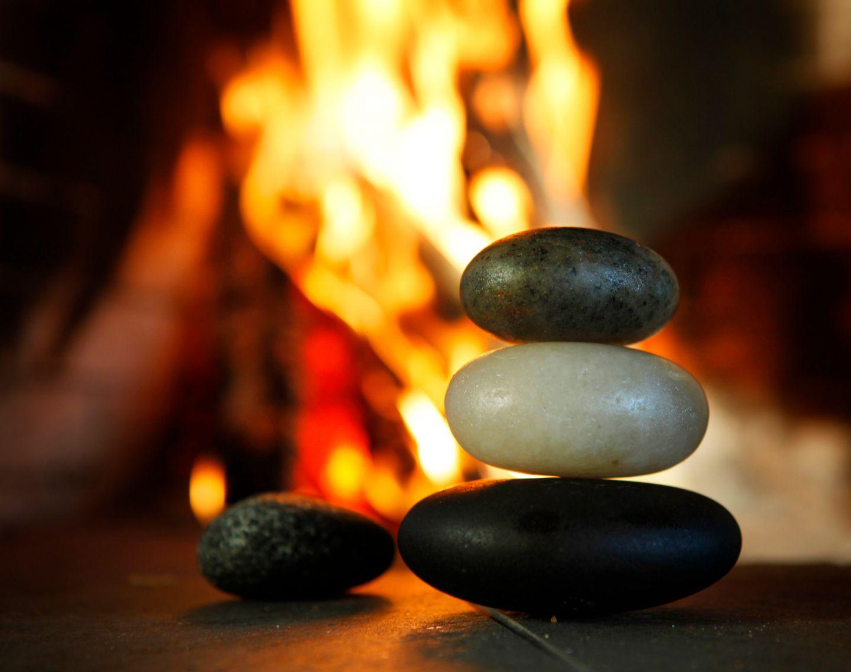 Hot stone massage in Ruka-Kuusamo, Finland