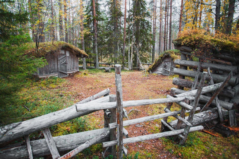 Hermit Heikkinen's Cabin in Nuottavaara, Kolari, Lapland