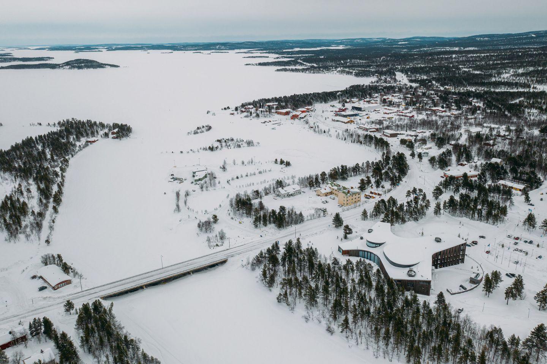 Inari in Lapland, Finland